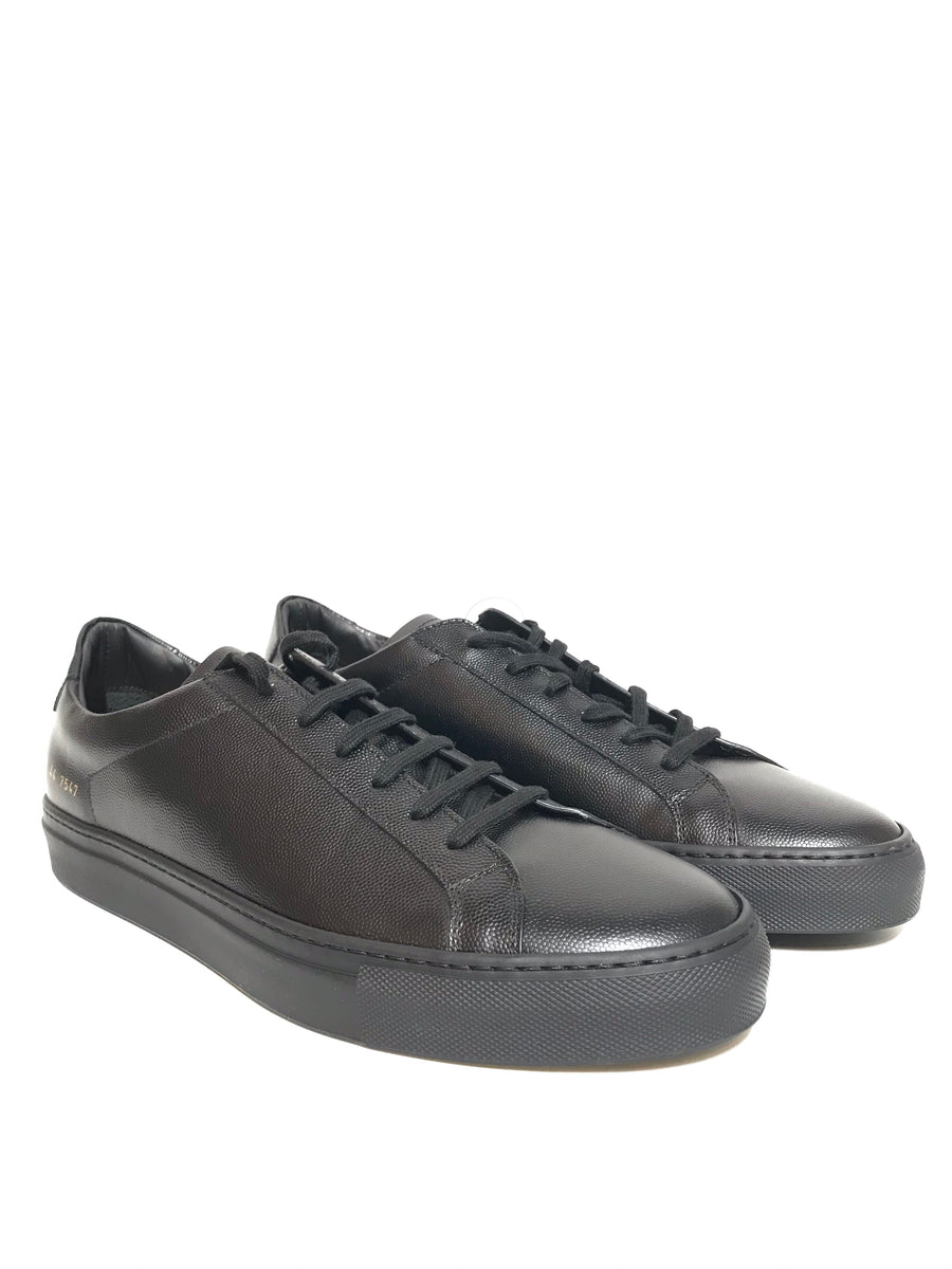 COMMON PROJECTS/ACHILLES LOW /Low-Sneakers/US11/BLK/Leather/Plain