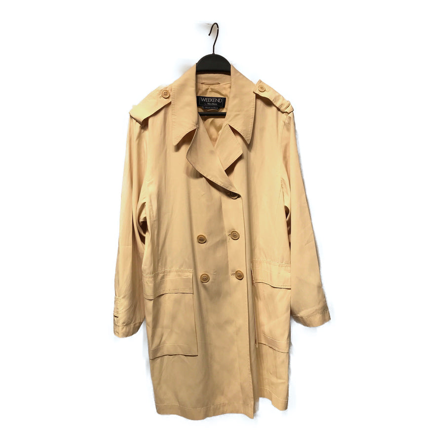 MAX MARA WEEK END LINE//Spring Coat/4/CRM/Others/Plain