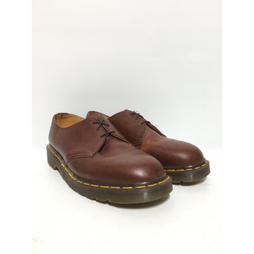 Dr.MARTENS/10/Low-Sneakers/BRW/Leather/Plain