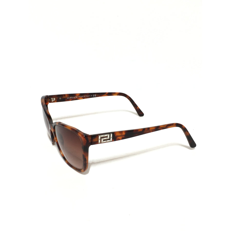VERSACE//Sunglasses/BRN/Plastic/All Over Print