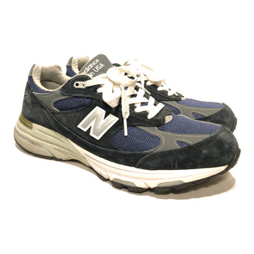 NEW BALANCE/993/Low-Sneakers/US 10.5/BLU/Others/Plain