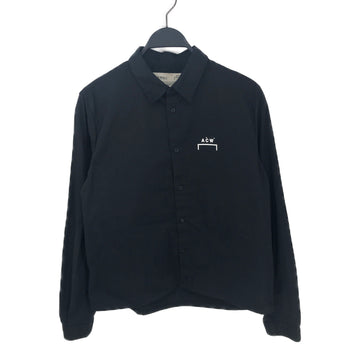 A-COLD-WALL//LS Shirt/L/BLK/Cotton/Graphic