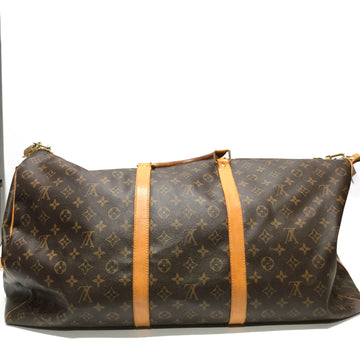 LOUIS VUITTON///Luggage//BRW/Leather/Monogram