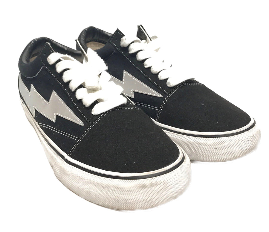 REVENGE STORM//Low-Sneakers/10/BLK/Cotton/Plain
