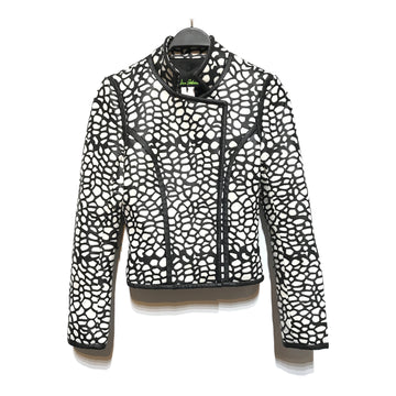 Sam Edelman//Jacket/S/BLK/Faux Leather/All Over Print