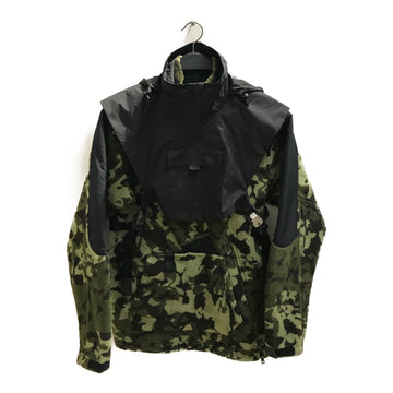 NIKE//Jacket/XS/GRN/Polyester/Camouflage
