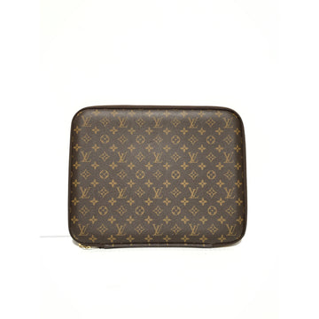 LOUIS VUITTON//Accessories/BRW/Leather/Monogram