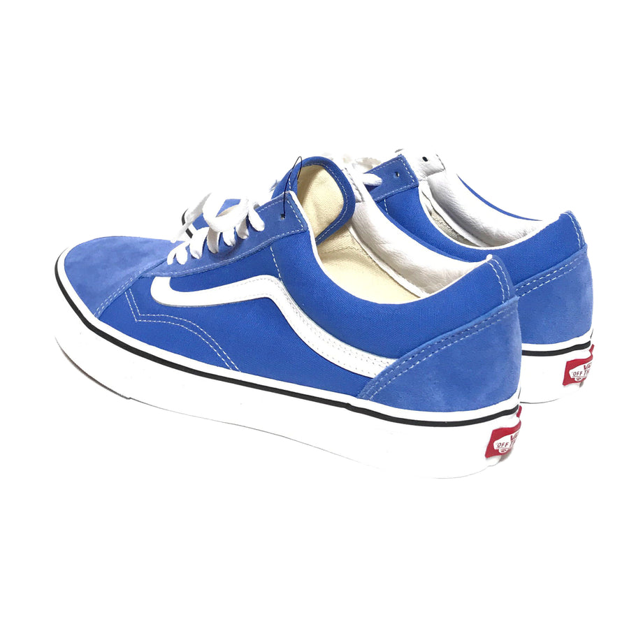 VAN//Low-Sneakers/US10/BLU/Cotton/Plain