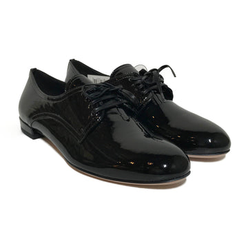 MIU MIU//Shoes/36.5/BLK/Leather/Plain