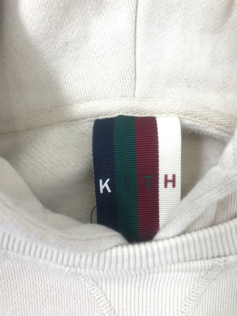 KITH NYC/M/Hoodie/WHT/Cotton/Iridescent