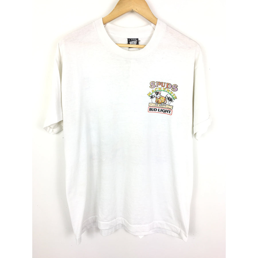 Vintage/XL/T-Shirt/WHT/Cotton