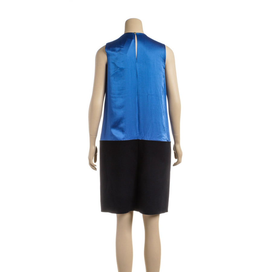 MAISON RABIH KAYROUZ/Dress/38/Silk/BLU
