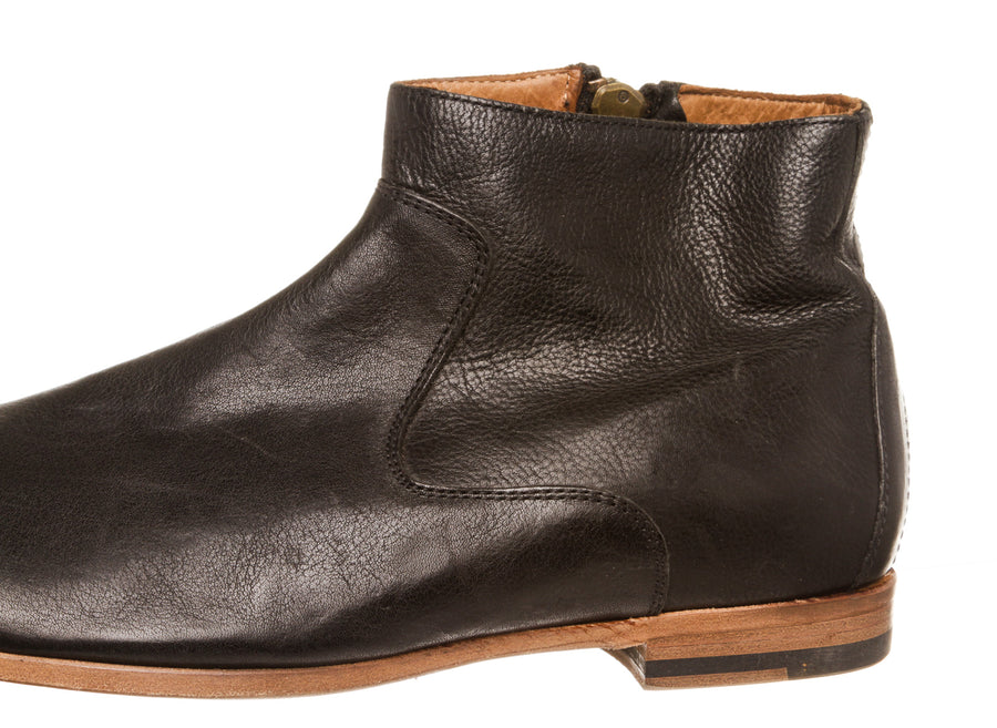 BUTTERO/Boots/43/BLK/Leather