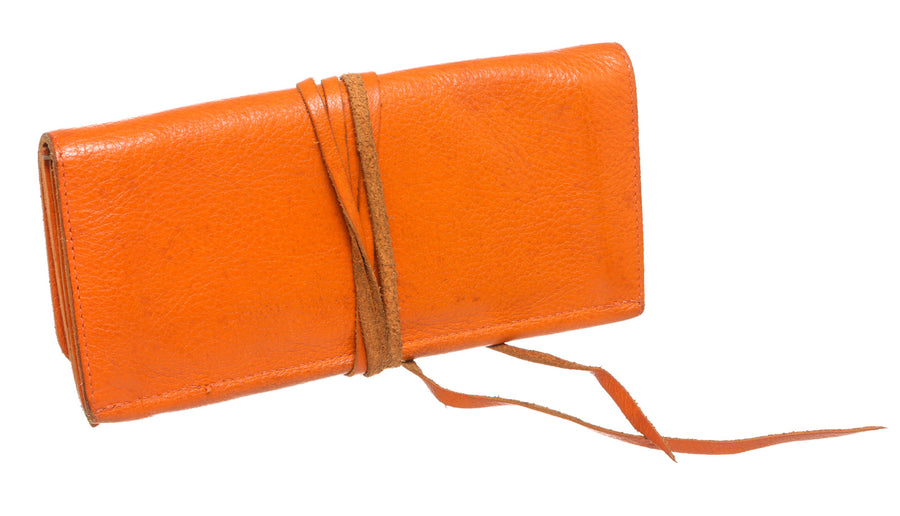 IL BISONTE/Long Wallet/ORG/Leather