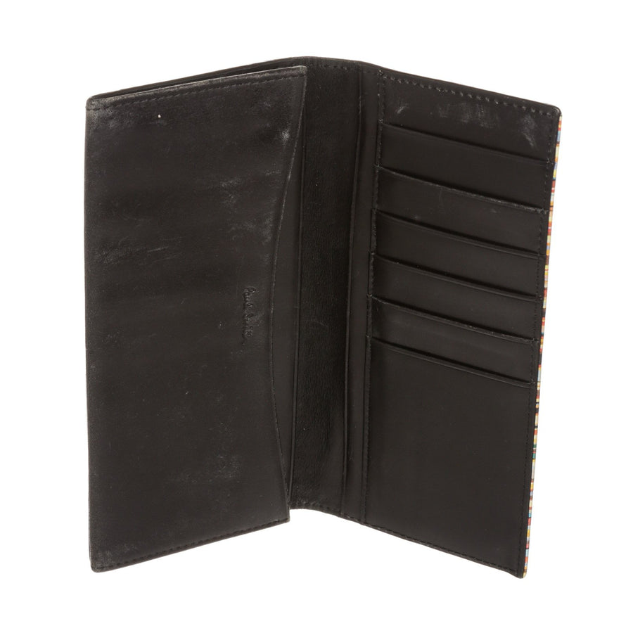 Paul Smith/Long Wallet/BLK/Leather