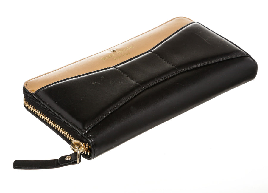 kate spade new york/Long Wallet/BLK