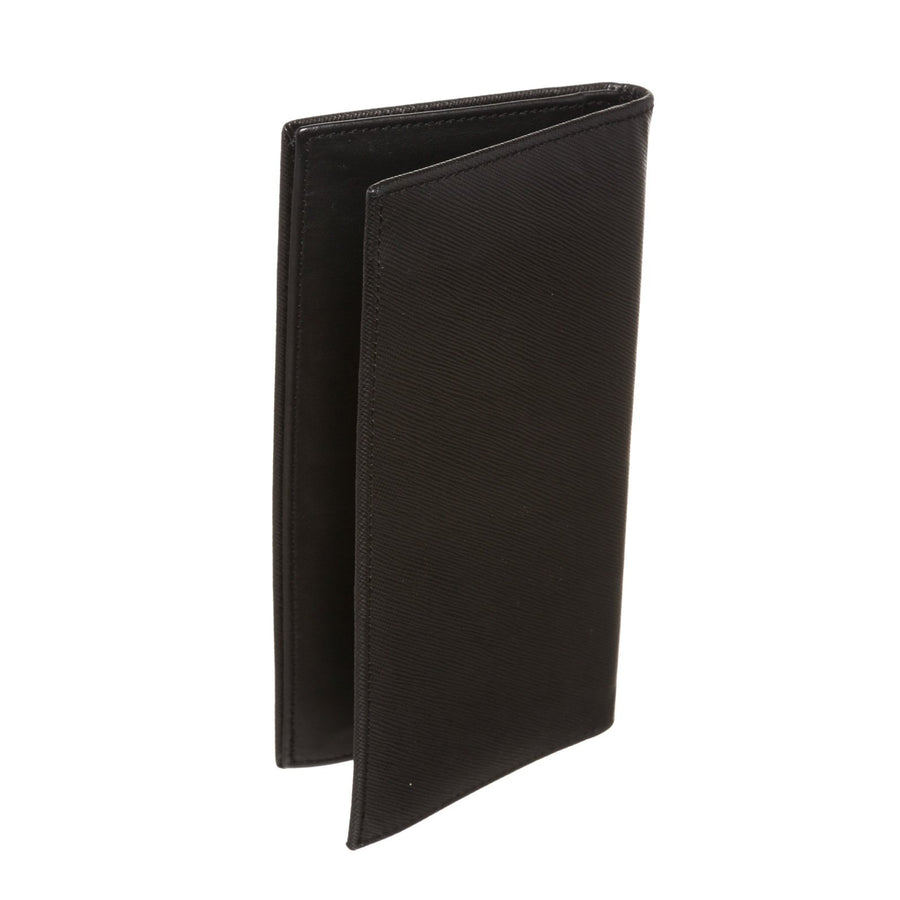 Orobianco/Long Wallet/BLK/Leather