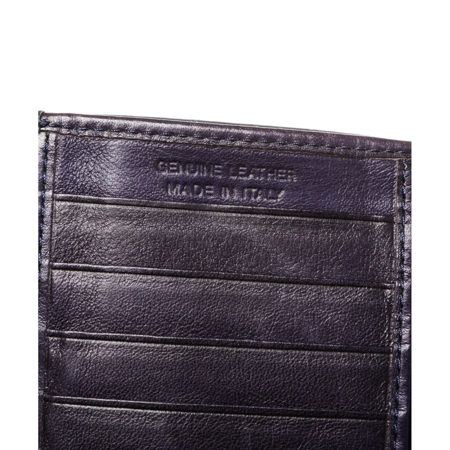 Orobianco/Trifold Wallet/NVY/Leather
