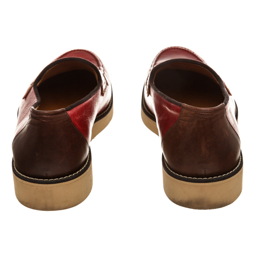 FACTOTUM/Dress Shoes/26cm/RED/Leather
