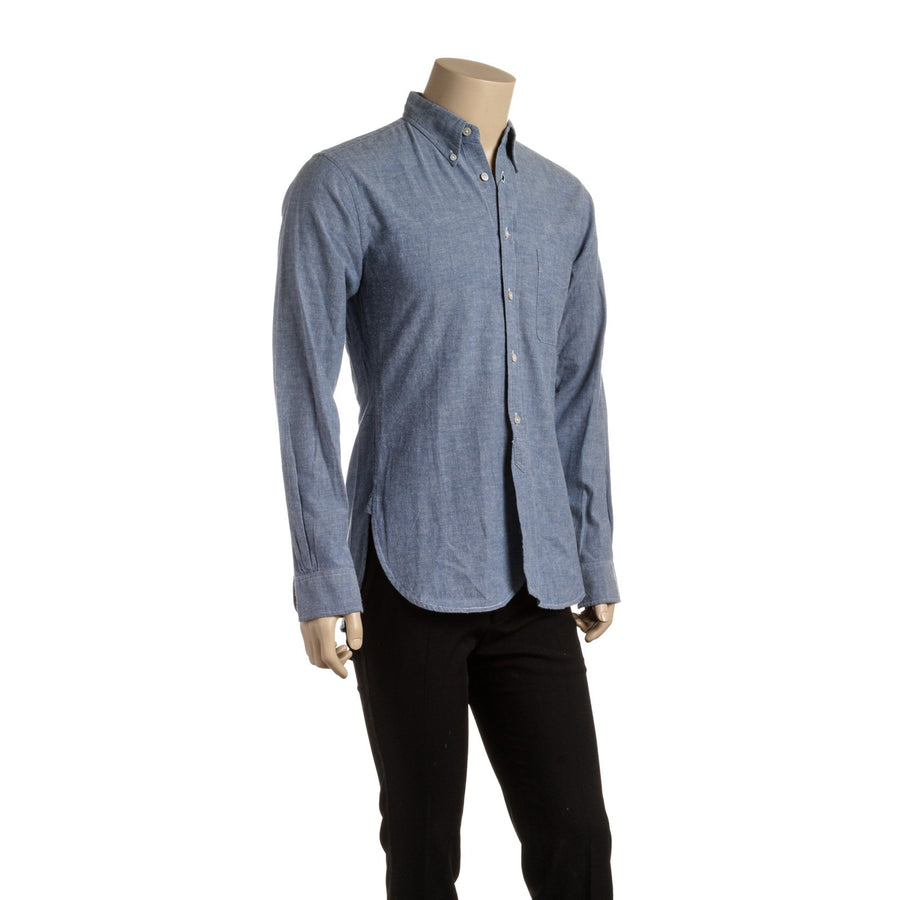 Engineered Garments/Long Sleeve/M/BLU