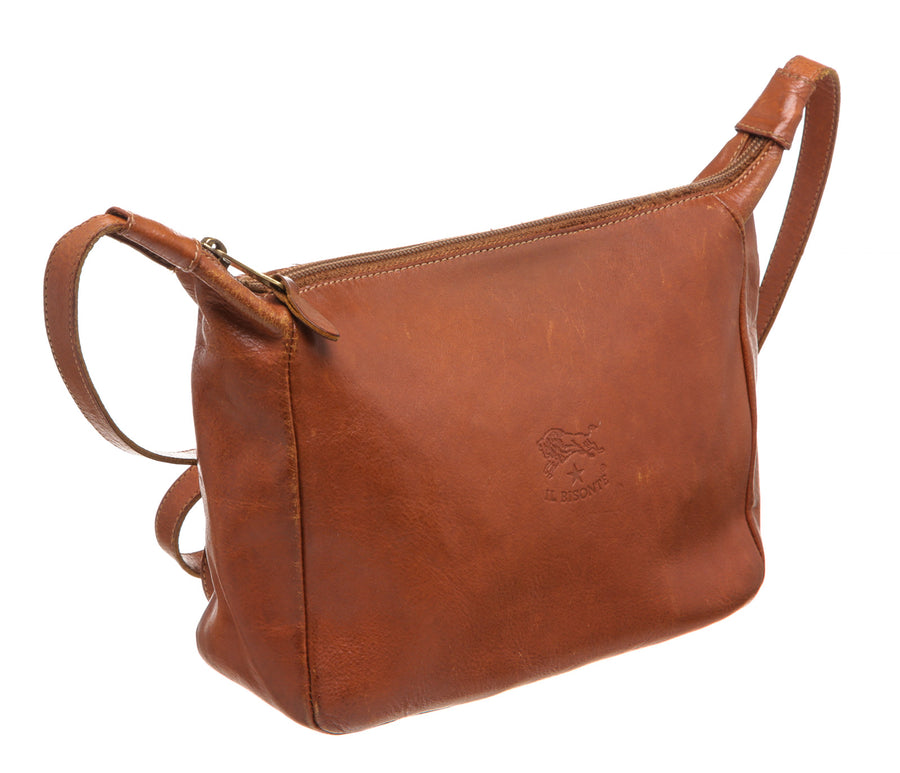 IL BISONTE/Shoulder Bags/BRW/Leather