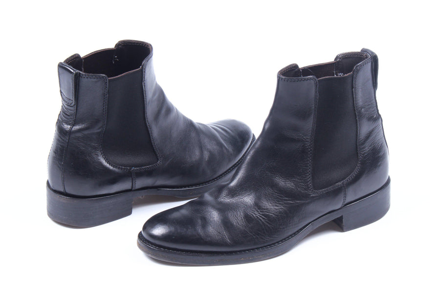 BUTTERO/Chelsea Boots/40/BLK/Leather