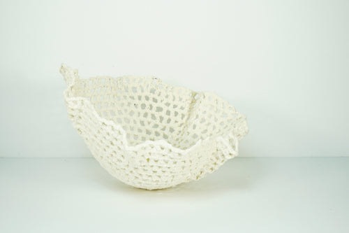 TRICOT EN PORCELAINE - KNITTED BOWL