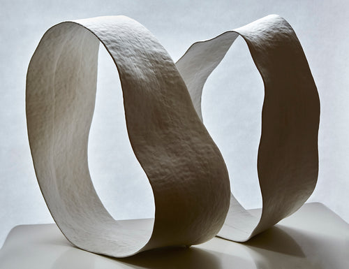 SCULPTURE -TERRE EN MOUVEMENT (2 pièces) - FLOWING EARTH (2 items)