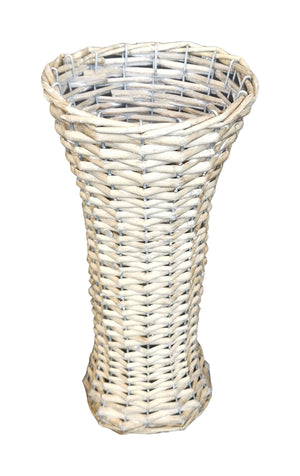 Willow Vase Slim 16x35 - Grey