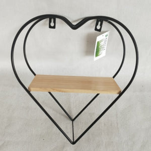 Wall Hanging display rack heart shape - Large