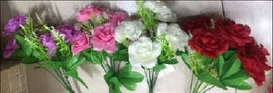 Artificial Flower 900009 - White