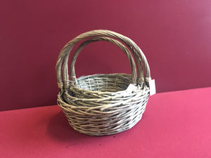 Round Shape Basket 3 in 1 Set - Grey (69000000040601 69000000040602 69000000040603)