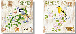 Wooden Picture SEEDS 1345