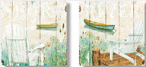 Wooden Picture Boat 25.4x25.4 - 1250 (93522720210320