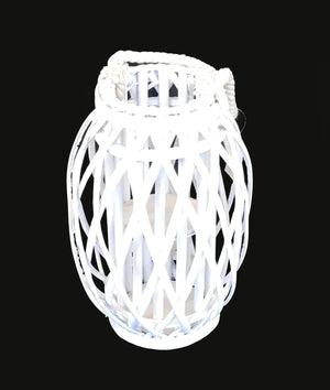 Large Candle Lantern - White (51cm)                          690 00144551001)