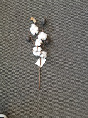 Artificial Cotton Flower 5H