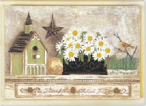 Wooden Picture Daisy 56x41 (9352272021049)