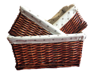 Square Basket 3 in 1 Set -  Brown (9300000560001 9300000560002 9300000560003)