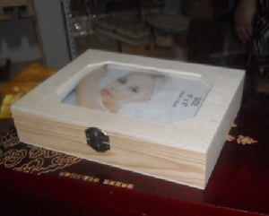 Small Jewelry Box with Photo Frame