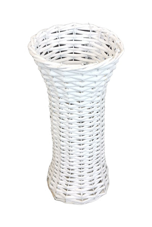 Willow Vase Slim 16x35 - White