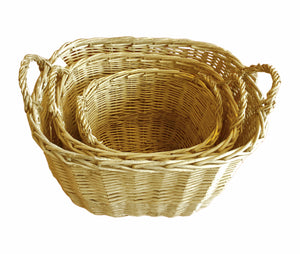 Large Thick Willow Basket 3 in 1 Set - Original (9300000021201 9300000021202 9300000021203)