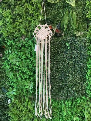 Macrame Wall Hanging 15x80 - Hexagon