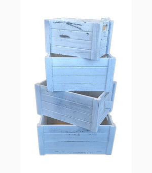 Wooden Storage Box 4 in 1 Set