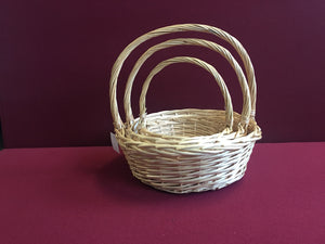 Round Shape Basket 3 in 1 Set - Original (69000000040601 69000000040602 69000000040603)