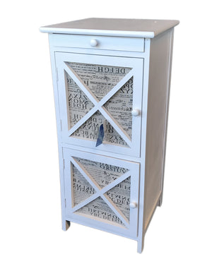 Storage Cabinet with 1 drawer & 2 Doors