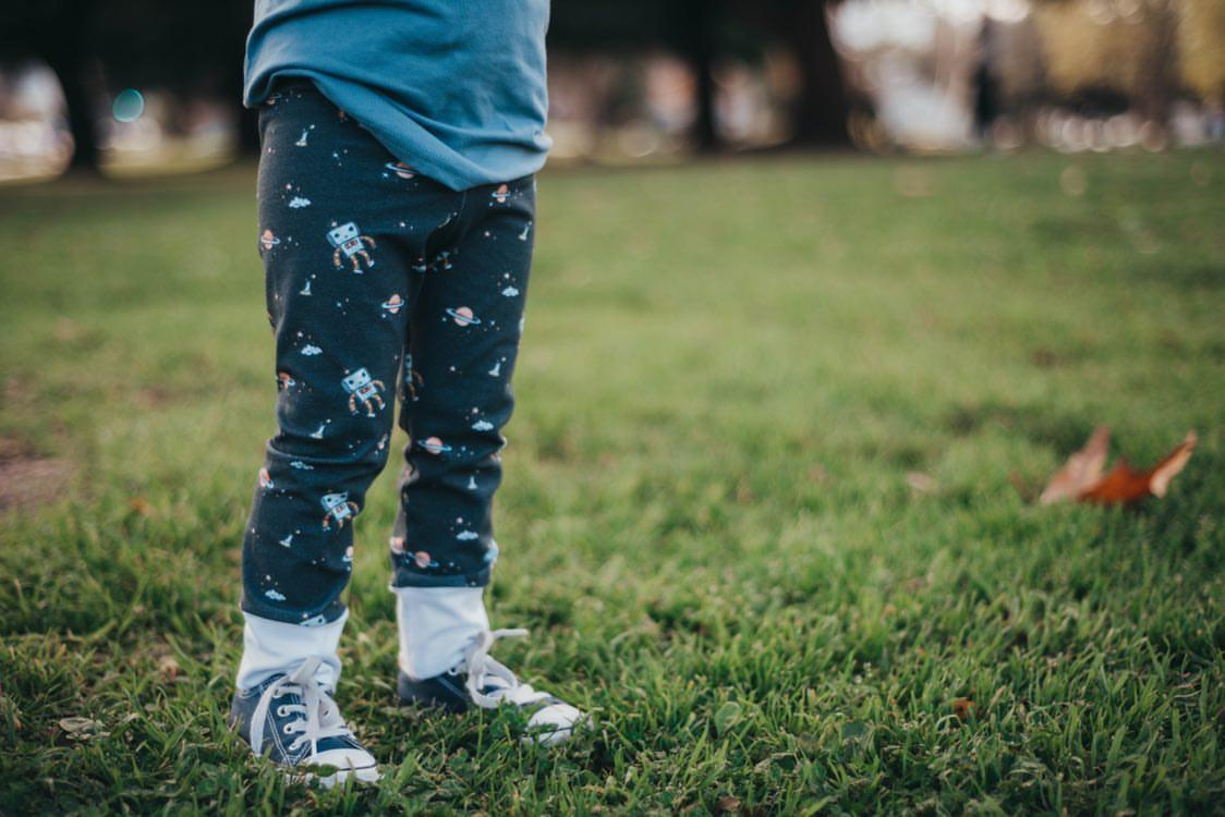 RTS Space Robot Leggings NB, 0-3, 3-6, 6-9, 9-12, 12-18, 2T, 3T, 4T, 5T