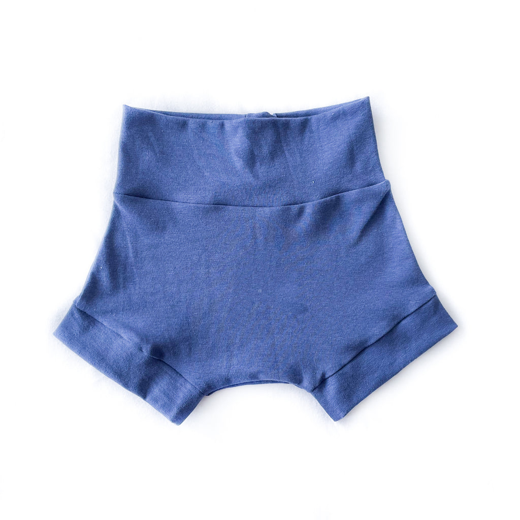 indigo blue shorties