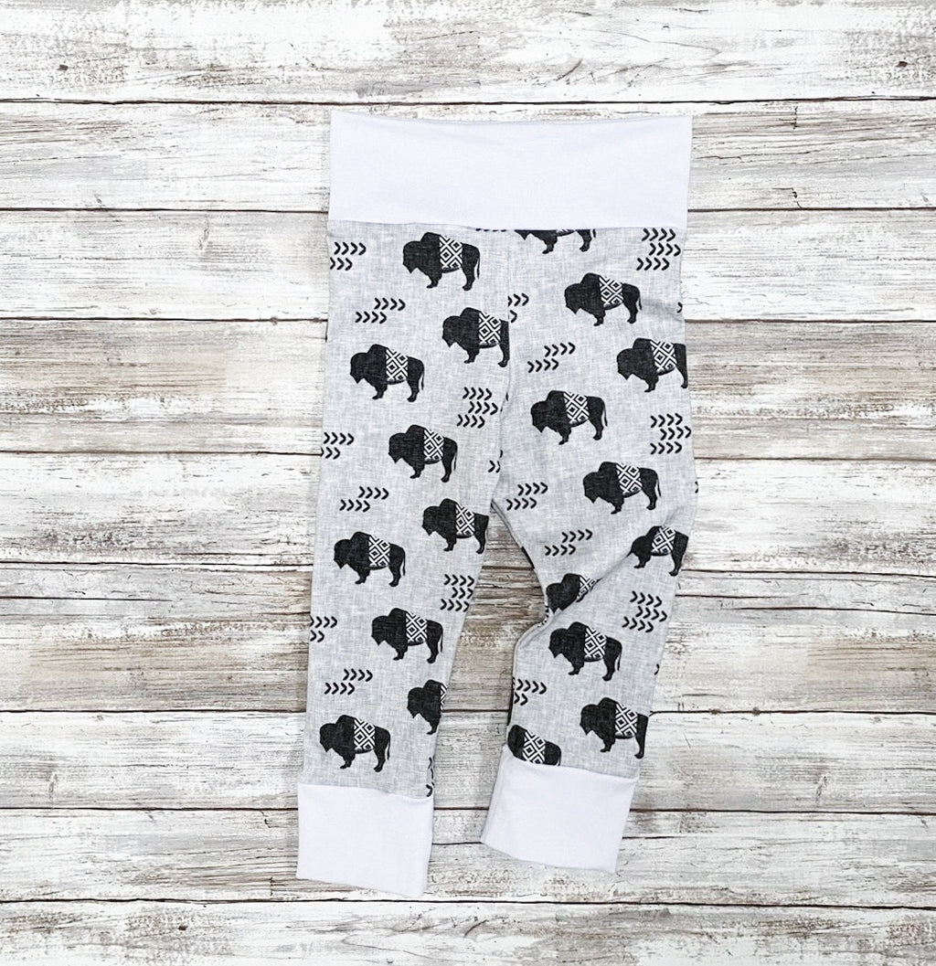 grey buffalo aztec leggings