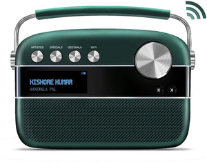 Saregama Carvaan 2.0 - Wifi & App (Emerald Green) - Saarthi Media