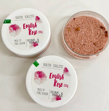 Load image into Gallery viewer, English Rose Bath Salts